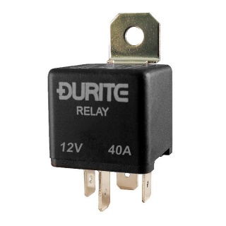 Durite 12V 40A Make and Break Relay with Diode | Re: 0-727-55