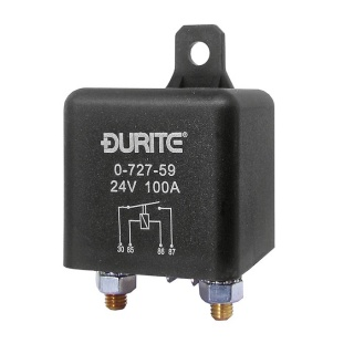 0-727-59 Durite 24V 100A Extra Heavy Duty Make and Break Relay