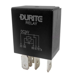 Durite 24V 10A-20A Changeover Relay with Diode | Re: 0-728-30