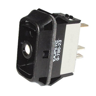0-780-23 Durite On-Off Double Pole Rocker Switch Body One Lit Position Sealed to IP67