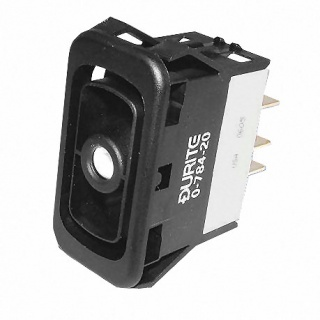 0-784-20 Durite On-Off-On Double Pole Rocker Switch Body Non Illuminated