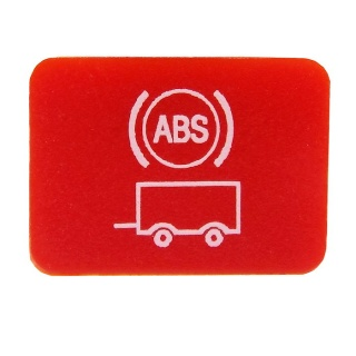 Durite Top Switch Lens - Trailer ABS Warning | Re: 0-791-31