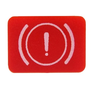 Durite Bottom Switch Red Lens - Brake Warning | Re: 0-792-32