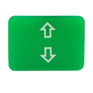 Durite Bottom Switch Green Lens - Up and Down | Re: 0-792-39
