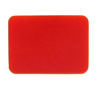 Durite Bottom Switch Lens - Red | Re: 0-792-95