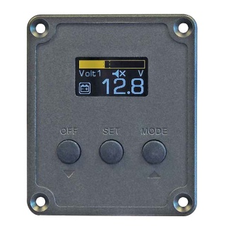 0-852-00 Durite 12V-24V Dual Battery Voltage Monitor