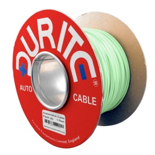 0-941-40 50m x 0.65mm² Light Green 5.75A Auto Single Core Electric Cable