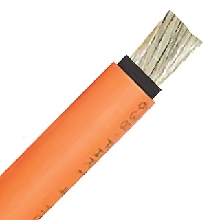0-984-05 10m Durite 35mm² Double Insulated Electric Starter Cable Orange 290A