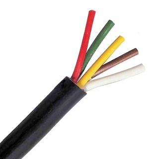 0-995-50 30m Roll 5 Core 16.5A Automotive Electric Cable