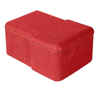 5-100-99 Single Red Rubber Battery Terminal Cover for Lighting Terminals