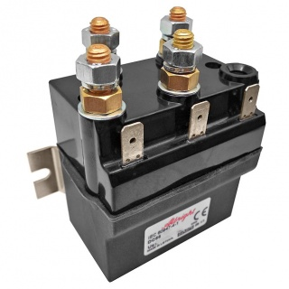 DC66-13P Albright 24V DC Motor Reversing Solenoid Continuous 80A IP66