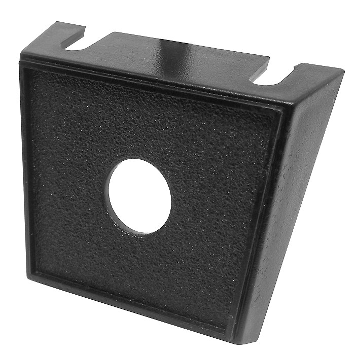 DURITE SINGLE SWITCH BLACK PLASTIC PANEL 0-241-01 13mm DIAMETER HOLE