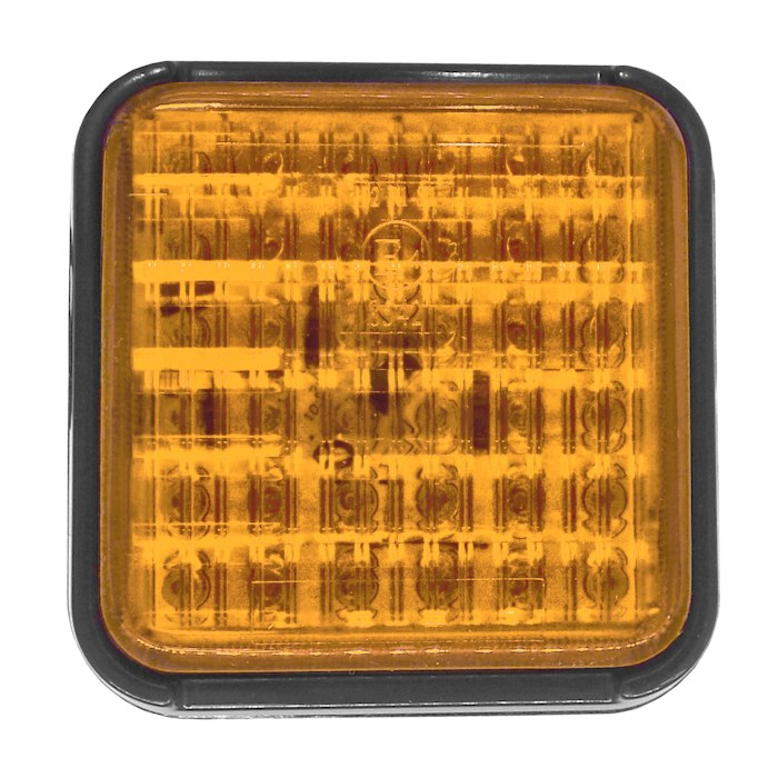Durite 0 Square 12V Lamp 294 24V LED Amber Indicator 31 eWED29IYH