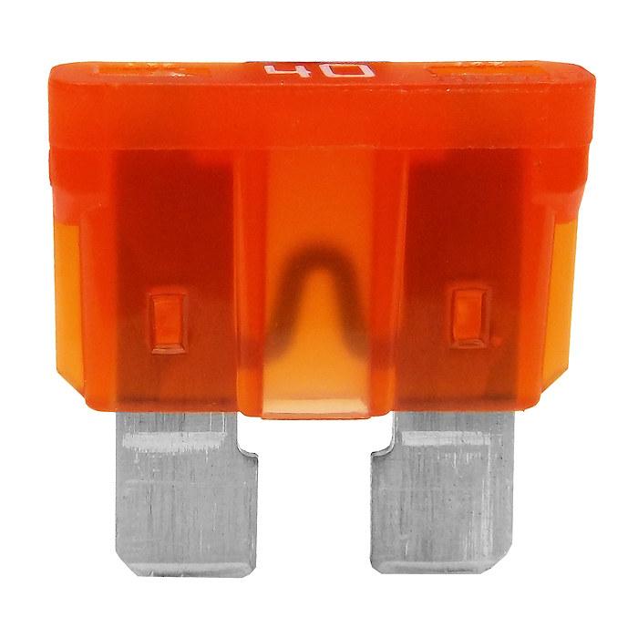 isuzu box truck fuse box 0-375-40   10 durite 40a orange auto blade fuse   40 amp spade #9