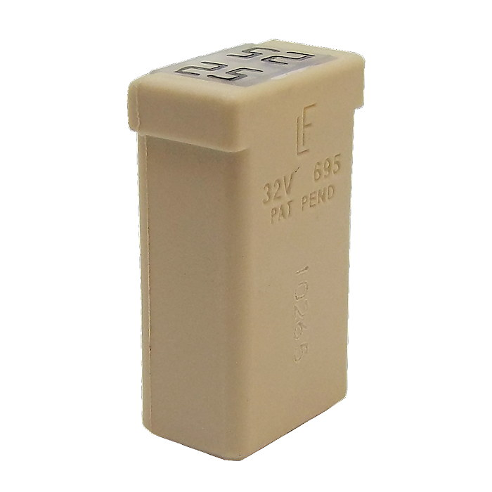 Durite 25a Natural Mcase Cartridge Fuse