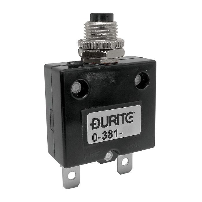 0 381 70 Durite 12v 24v Panel Mount Circuit Breaker 20a