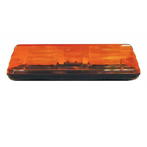 0 443 70 12v 48v amber led lightbar 16 leds hazardous lighting 0 443 70 16 led 12v to 48v amber flash hazardous vehicle light bar aloadofball Images