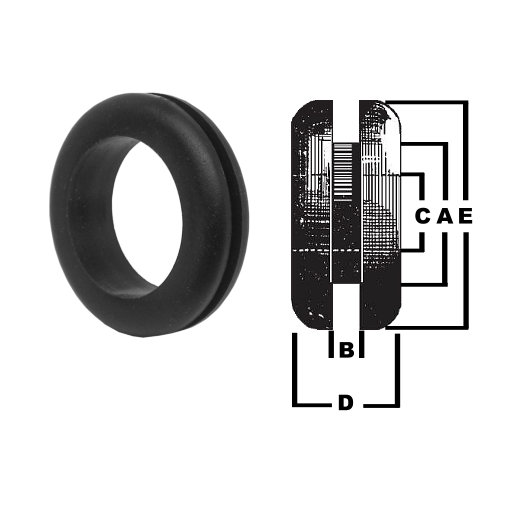 Terrific 0 447 52 25 Durite Soft Pvc Cable Wiring Grommets 25Mm Hole Wiring Database Gramgelartorg