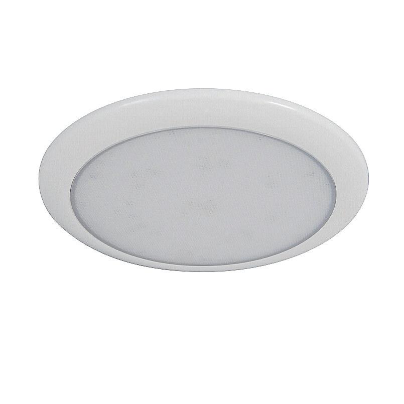 new concept 30620 9c24c 0-668-40 Durite Slim 12V-24V DC Round LED Roof Lamp