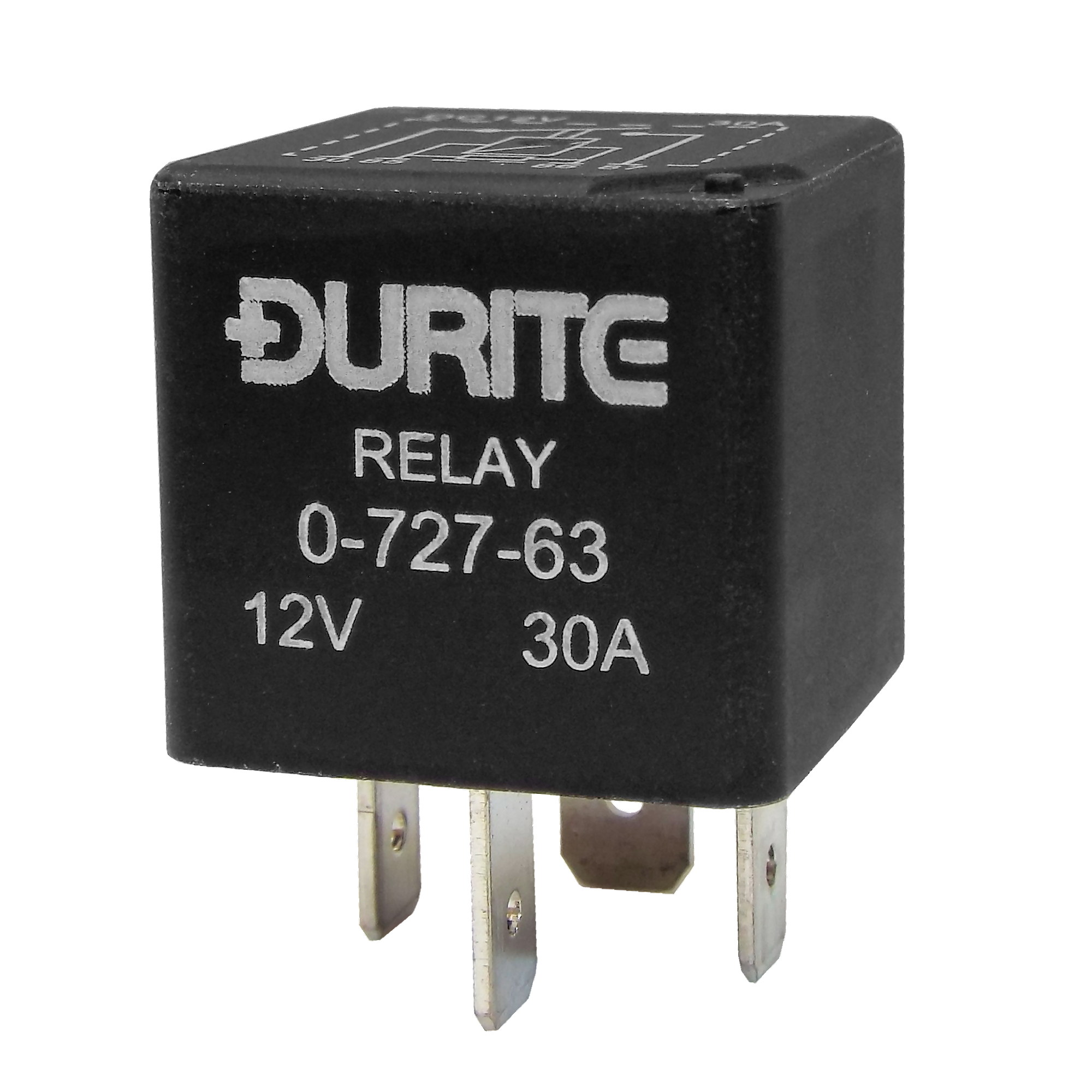 0 727 63 Durite 12v 30a Relay Make And Break Resistor Relays Lucas 5 Pin Mini Brake With
