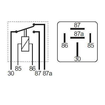 12V 70//40A Heavy Duty change over relay with bracket