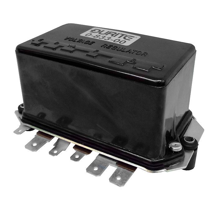 0-833-00 mechanical regulator for 12v 22a generator