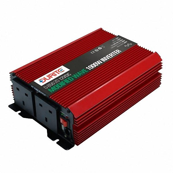 Fantastisk 0-856-20 | 12V 1000W Twin Socket Modified Wave Inverter -12 Volt dc KO86
