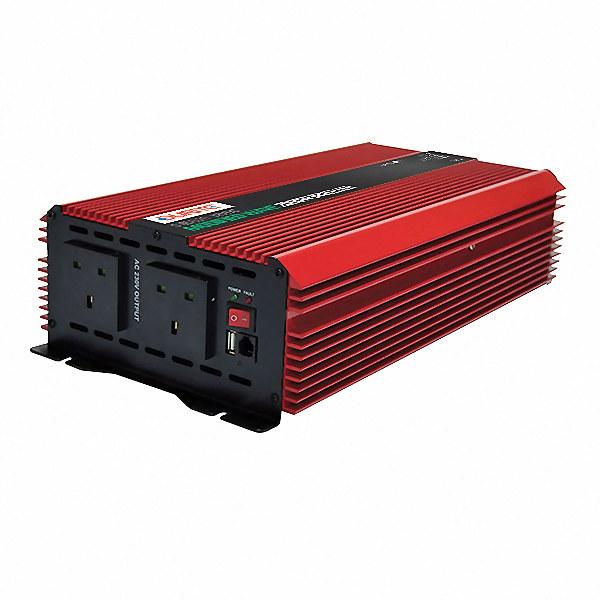 Nice 0-856-26 | Durite Inverter Modified Wave 12V DC to 230V AC 2000W VH67