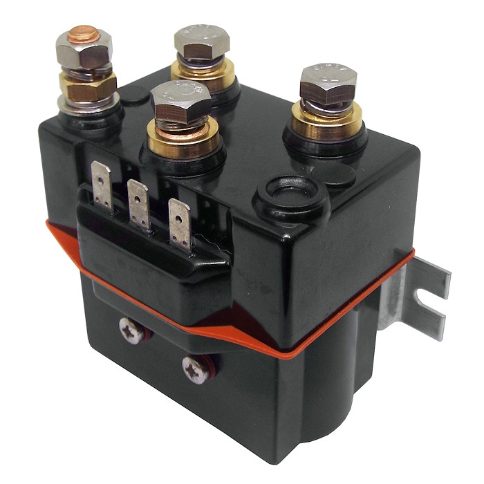 Winch Motor Intermittent Duty Reversing Solenoid DC Contactor Relay Switch