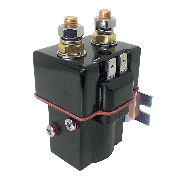 SU80-5175P Albright Single Acting 12V 150A Contactor - Intermittent on