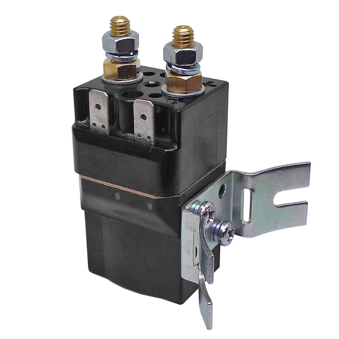 SW60-281 Albright 12V DC Single Acting Miniature Solenoid Intermittent 80A