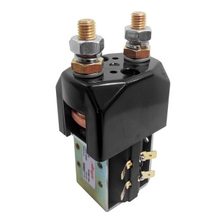 SU280B-1487 Albright Single Acting 24V 250A Contactor - Intermittent with Blowouts