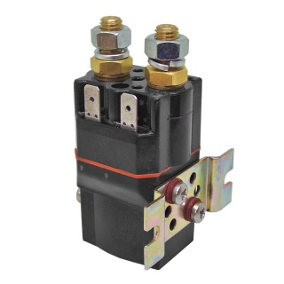 SU60-TBC7 Albright 72-80V DC Single Acting Miniature Solenoid Continuous 100A