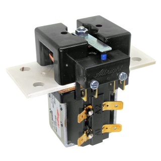 SW150A-1071 Albright 12V SPST Busbar Contactor with Auxiliary - Continuous