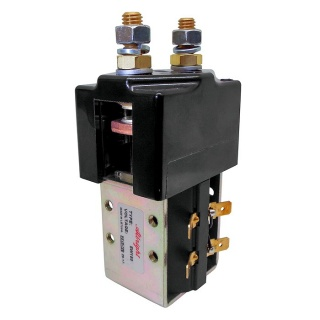 SW180-4 Albright Single Acting Solenoid Contactor 24V Continuous