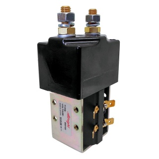 SW180-461L Albright Single Acting Contactor 12V Intermittent - Large Tips