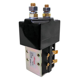SW180B-423 Albright Single Acting Solenoid Contactor 24V Intermittent