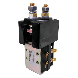 SW180B-93 Albright Single Acting Solenoid Contactor 36-48V Intermittent