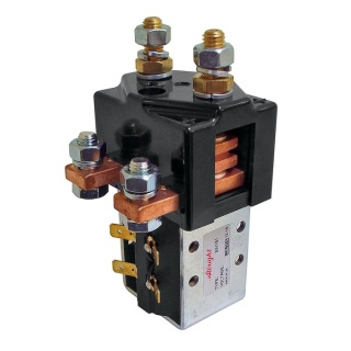 SW181B-2 Albright 12V Single Pole Double Throw Solenoid Contactor - Continuous
