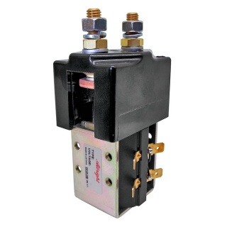 SW185-14 Albright 24V DC Normally Closed Solenoid Contactor - Intermittent