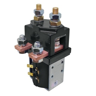 SW201-58 Albright 24V Single Pole Double Throw Solenoid Contactor - Continuous