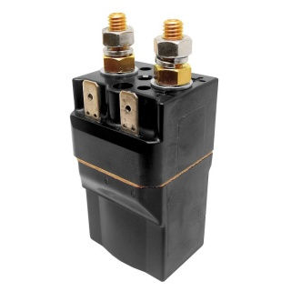 SW60-331 Albright 12V DC Single Acting Solenoid - Very Intermittent 80A
