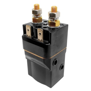 SW60-4 Albright 24V DC Single Acting Miniature Solenoid Continuous 80A