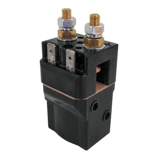 SW60B-2 Albright 12V DC Single Acting Miniature Solenoid Continuous 80A