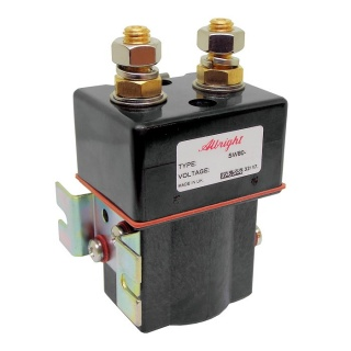 SW80-374P Albright Single Acting Solenoid Contactor 12V Intermittent Sealed IP66
