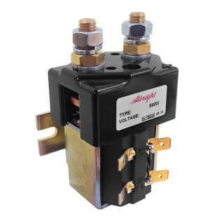 SW80B-167 Albright Single Acting Solenoid Contactor 48V Intermittent