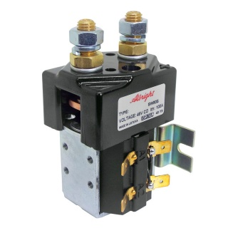 SW80B-2192 Albright Single Acting Solenoid Contactor 48V Continuous