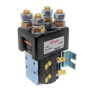 SW82-239 Albright Double Pole Single Coil Solenoid 14V Continuous
