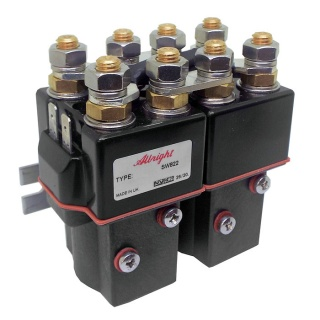 SW822-54P Albright Paired Double Pole Single Throw Solenoid 24V Continuous - IP66