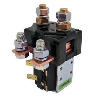 SW84B-2 Albright Single Pole Double Throw Solenoid 12V Continuous